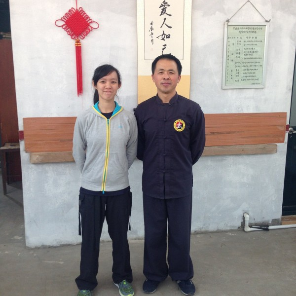 Redena and Master Ren Qiang